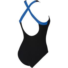 arena Agate Embrace Back - Bañador Mujer - azul/negro